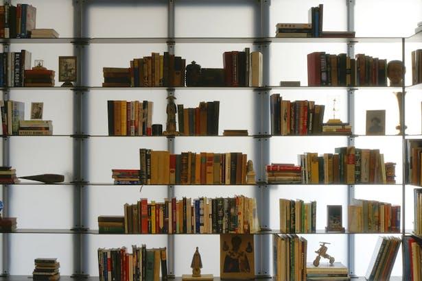 Midtown Minimal Library. Photo: T. G. Olcott