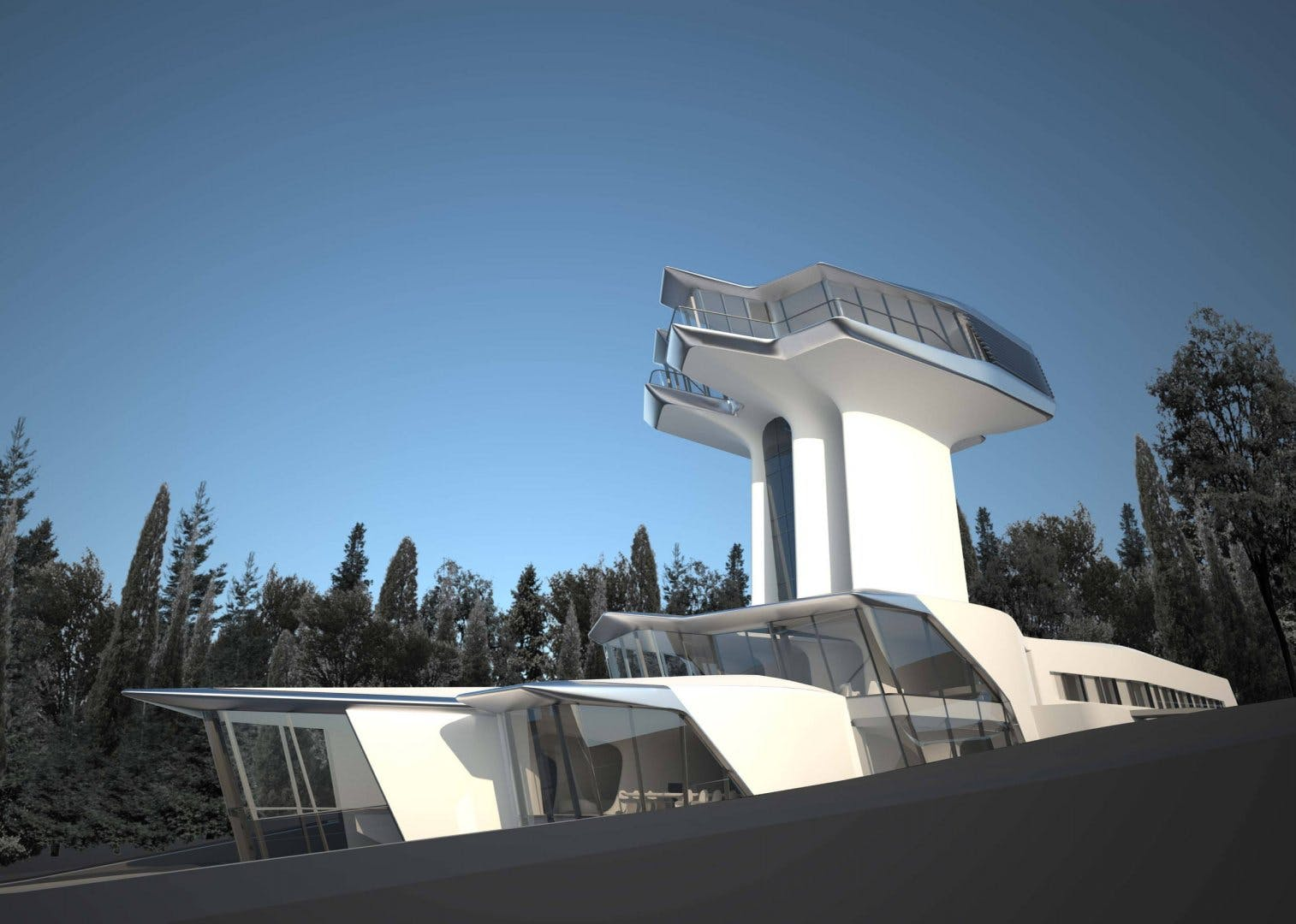 Capital Hill Residence Zaha Hadids First And Only Private
