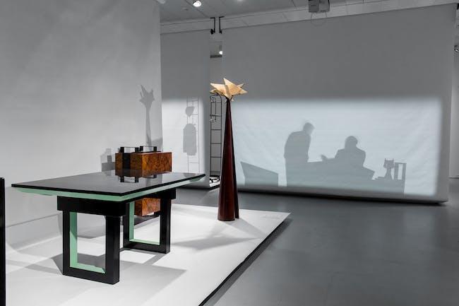 Installation view of the exhibition Pierre Chareau: Modern Architecture and Design, November 4, 2016 – March 26, 2017, at The Jewish Museum, NY. Exhibition design by Diller Scofidio + Renfro. Photo courtesy of The Jewish Museum.