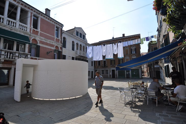 Transient Gallery in Venice. Image courtesy of GRAS.