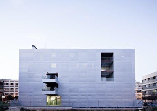 Education Center for the University of Cordoba in Cordoba, Spain by Rafael de la-Hoz Arquitectos; Photo: Javier Callejas