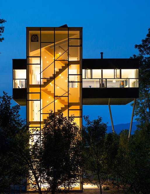 Tower House by GLUCK+. Photo: Paul Warchol.