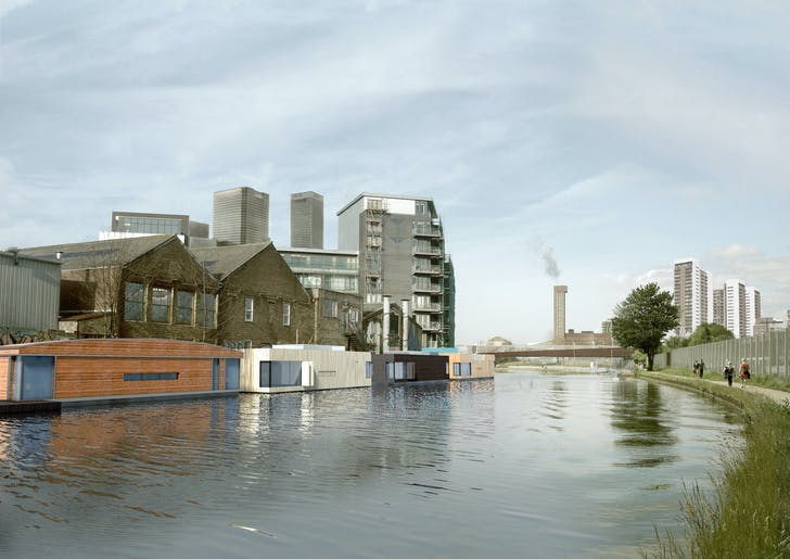 Baca Architects' 'Buoyant Starts'. Image courtesy of NLA.