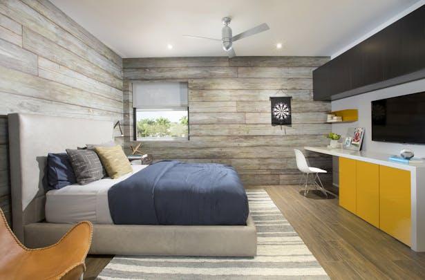 Boys bedroom - Residential Interior Design Project in Aventura, Florida