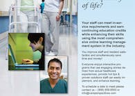 Targeted Nursing Continuing Education Ad