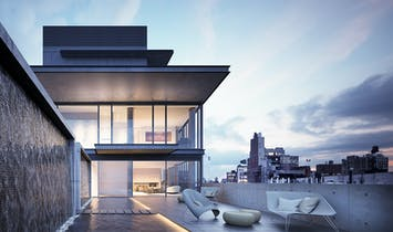 Tadao Ando's first residential development in NYC has sold its highly anticipated penthouse for $35 Million