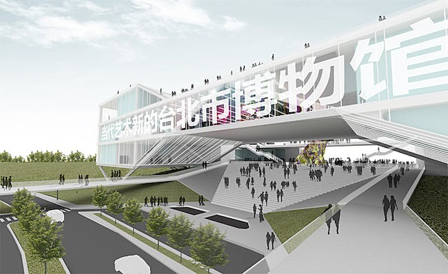 New Taipei Museum of Art (competition entry) by meter.