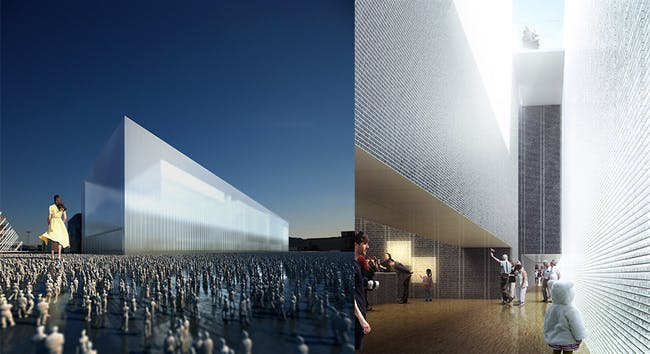 Shortlist Team 1's proposal for UK Pavilion for Milan Expo 2015