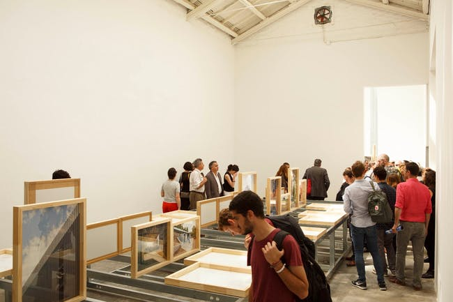 Exhibited projects, Unfinished. Spain Pavilion. Image courtesy of Fernando Maquieira ©.