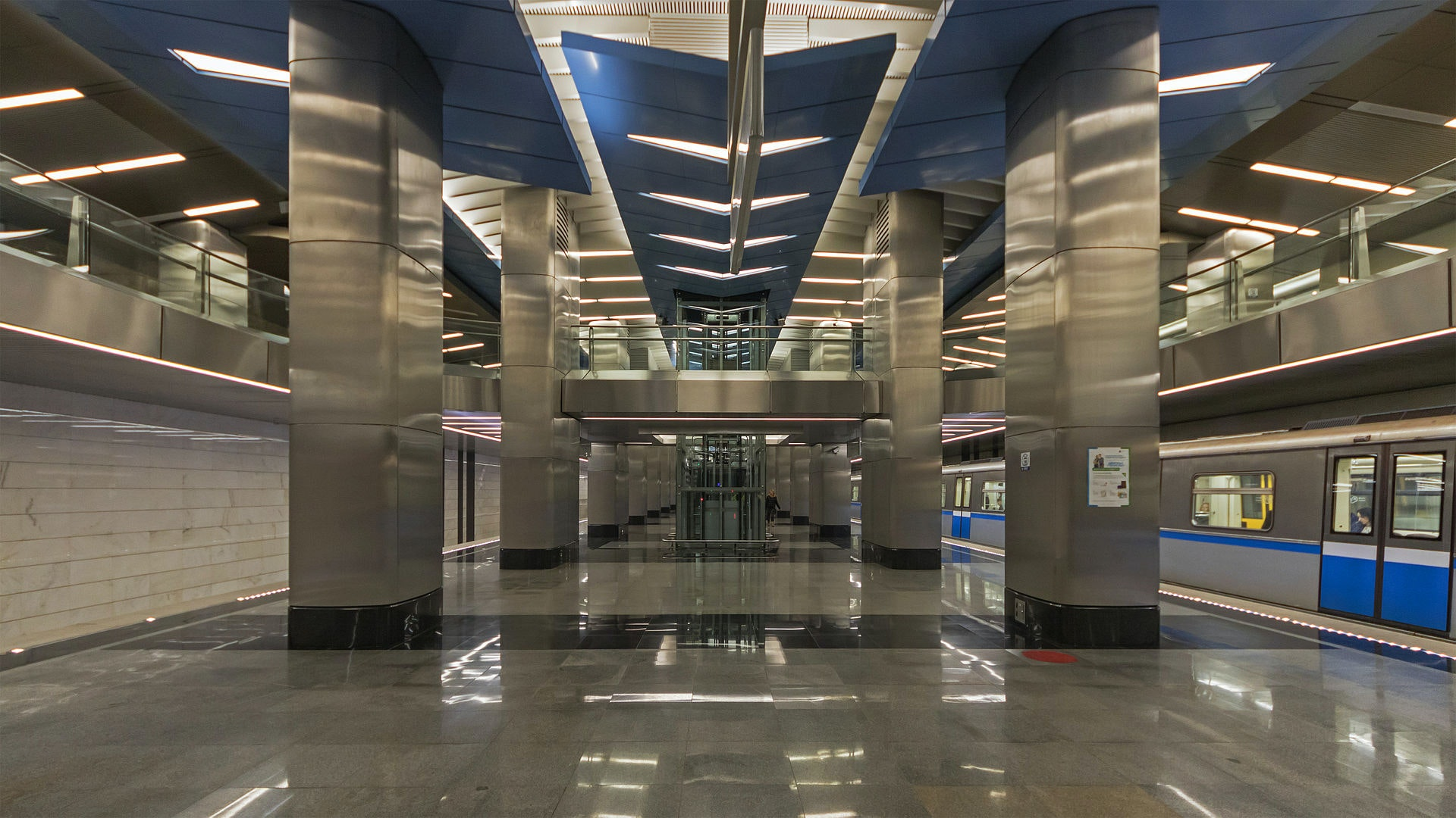 New stations of the metropolitan Butovskaya metro line: passengers are worried and delighted 26