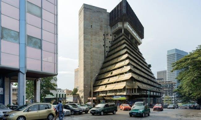La Pyramide, Abidjan, Ivory Coast. Credit: Iwan Baan / via the Guardian
