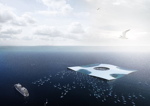 Jacques Rougerie Foundation International Architecture Competition 2015 - Innovation and Architecture for the Sea - Laureate: BIODIVER[CITY]. Team: Quentin Perchet, Thomas Yvon and Zarko Uzelac.