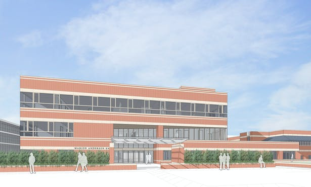 North Entry Rendering