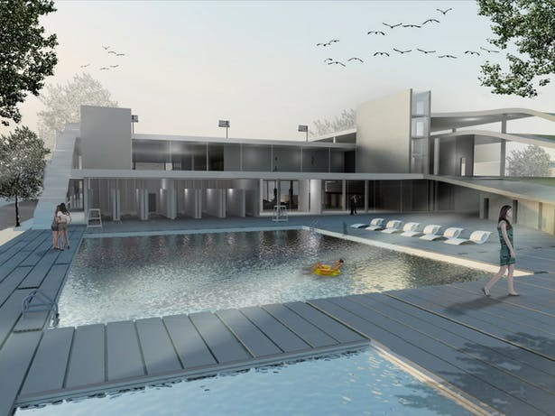 Pool/ Courtyard - View 2