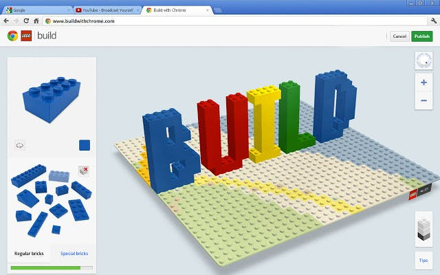 Build with chrome brings the lego building pastime to for Build a building online