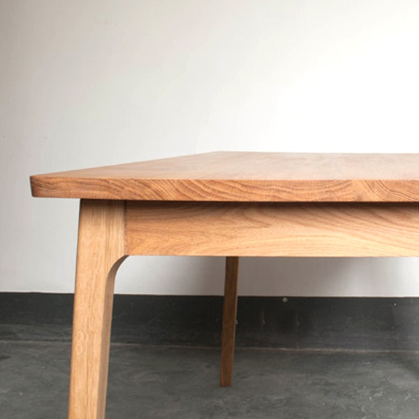 Decor8 Modern Furniture Hong Kong   Ando Solid Wood Oak Dining Table