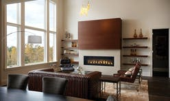Make any space feel like home with Napoleon's new Luxuria Linear Series fireplace