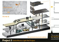 Santa Monica Light Rail Station Project