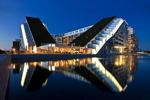 8 House, Copenhagen, Denmark by BIG (Bjarke Ingels Group). Photo: Jens Lindhe.
