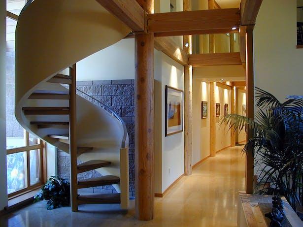 Interior Stair at Entry