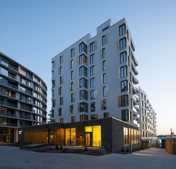 Tjuvholmen Hosuing 81-82 by schmidt hammer lassen architects