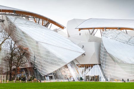 Foundation Louis Vuitton, Paris by Frank Gehry