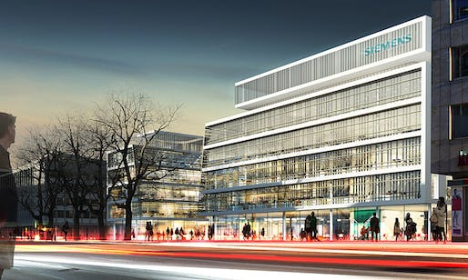 Competition-winning design for the new Siemens headquarters in Munich by Henning Larsen Architects (Image: Henning Larsen Architects)