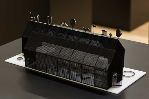 Ania Jaworska's Forum Pavilion. Image via the Chicago Architecture Biennial.