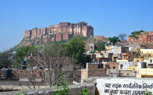 Mehrangarh Fort, the Aerie