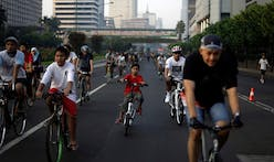 """Jakarta's """"car-free days"""" are only the start of the city's long journey to becoming bike-friendly"""