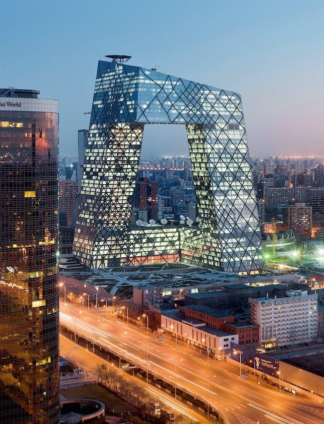 CCTV Television Station and Headquarters, 2002-2012, Beijing (China) © Iwan Baan