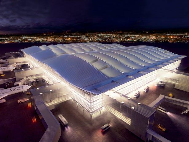 Terminal 2_Heathrow Airport (London), by luis vidal + architects