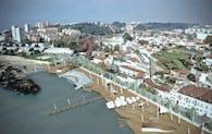 """Urban Upgrading of """"Estaleiro do Ouro"""" Porto Dockyard"""