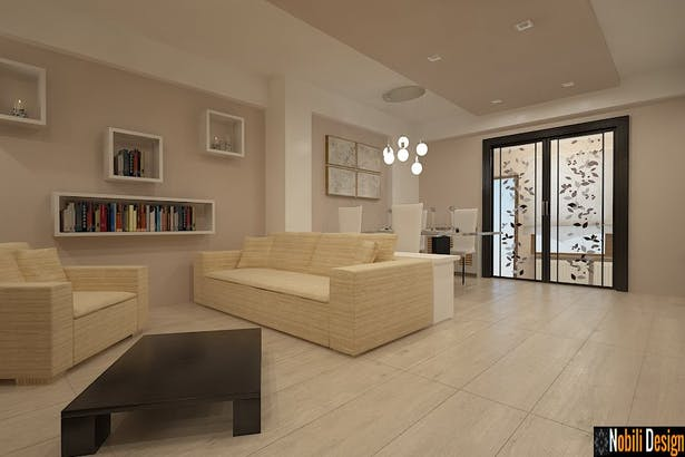 Design interior modern style apartment