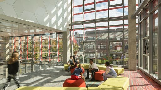 Seattle Academy of Arts and Sciences Middle School by LMN Architects © Lara Swimmer