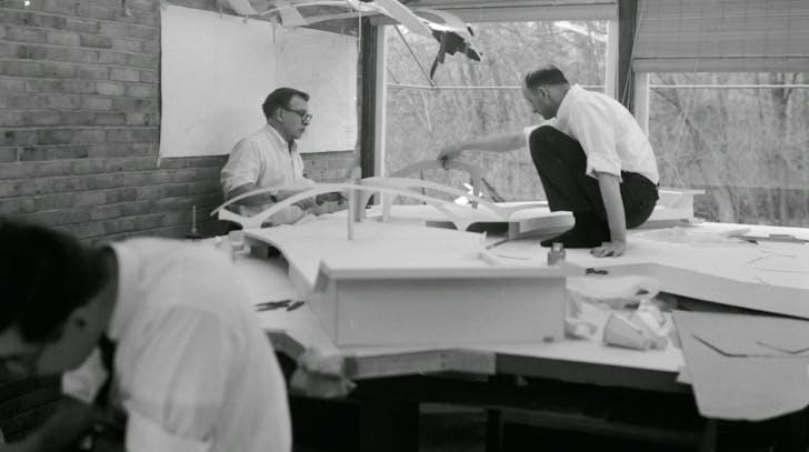 Screenshot from 'Eero Saarinen: The Architect Who Saw the Future'