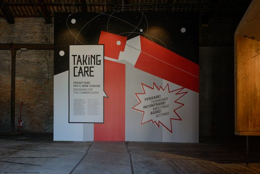"Italian Pavilion, ""Taking Care - Designing for the Common Good,"" 15th Venice Architecture Biennale, 2016."