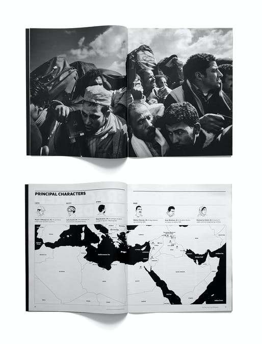 Graphics Category Winner: 'Fractured Lands', The New York Times Magazine