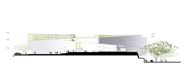 Sports Complex Project - Sketch