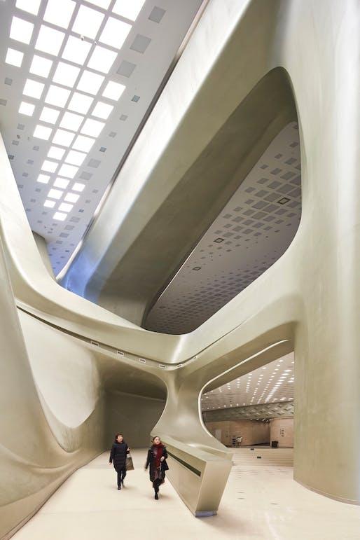 Interior Space Award: Nanjing International Youth Cultural Centre, Nanjing, China. Photo © Hufton+Crow.