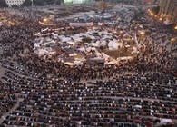 Midan Tahrir: The square, site of public, site of performance?