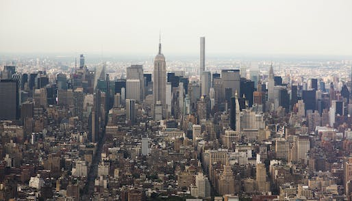 View of Midtown Manhattan from the One World Observatory. Photo: Doc Searls/Flickr.