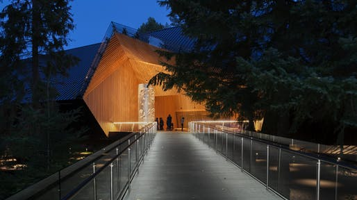 HONOR: Audain Art Museum, Whistler, British Columbia, Patkau Architects. Courtesy of the 2017 Wood Design & Building Awards.