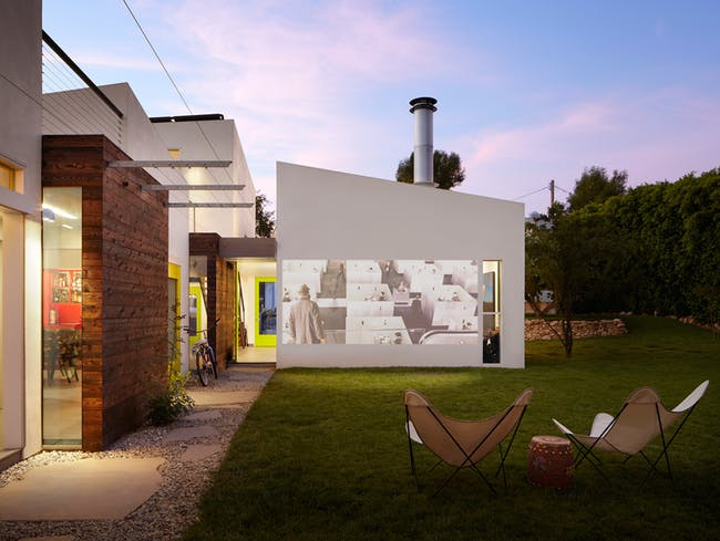 Informal House (South Pasadena, CA) by Koning Eizenberg Architecture, Inc. Photo © Eric Staudenmaier