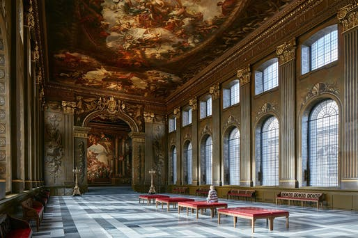 Shortlisted: Painted Hall by Hugh Broughton Architects © James Brittain