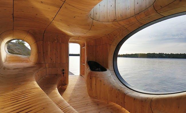 World Architecture Festival 2015 shortlist - Grotto Sauna by PARTISANS