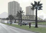 Parque Araucano Footbridge