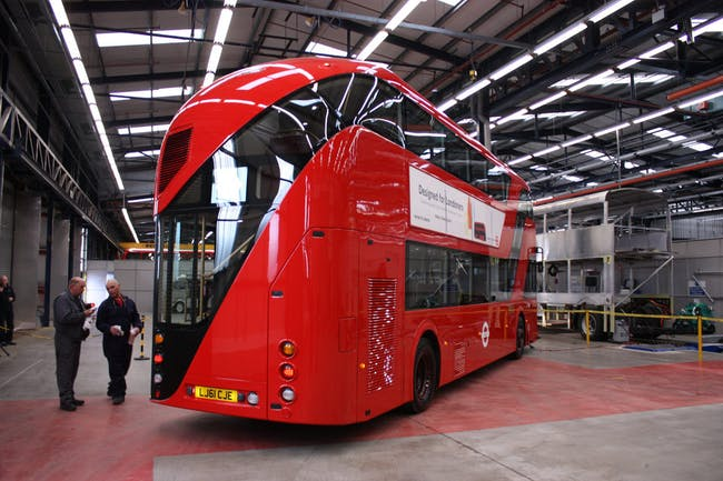 New Bus for London, London, UK - 2011. Photo: Heatherwick Studio.