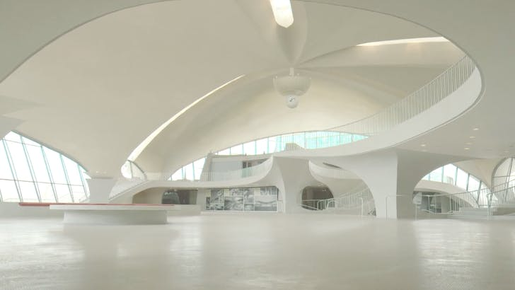 Screenshot from 'Eero Saarinen: The Architect Who Saw the Future'