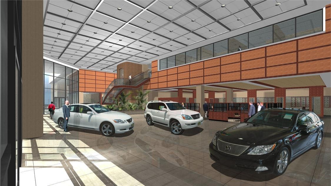 Lexus Van Nuys >> Keyes Lexus Interior Design | GO design | Archinect
